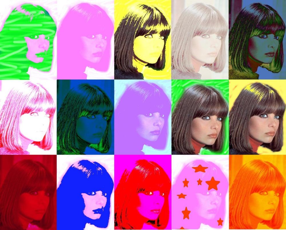 Claudia Rivelli collage