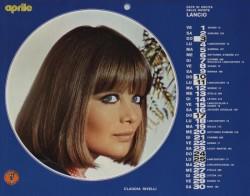 Lancio Calendario 1977 aprile