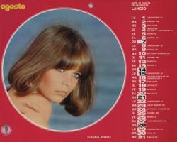 Lancio Calendario 1977 agosto