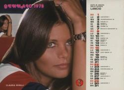 Lancio Calendario 1978