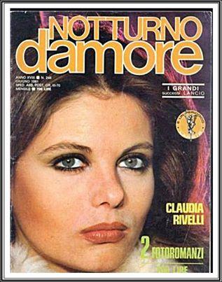 Claudia Rivelli Le Copertine Sito Non Ufficiale Fotoromanzi Lancio