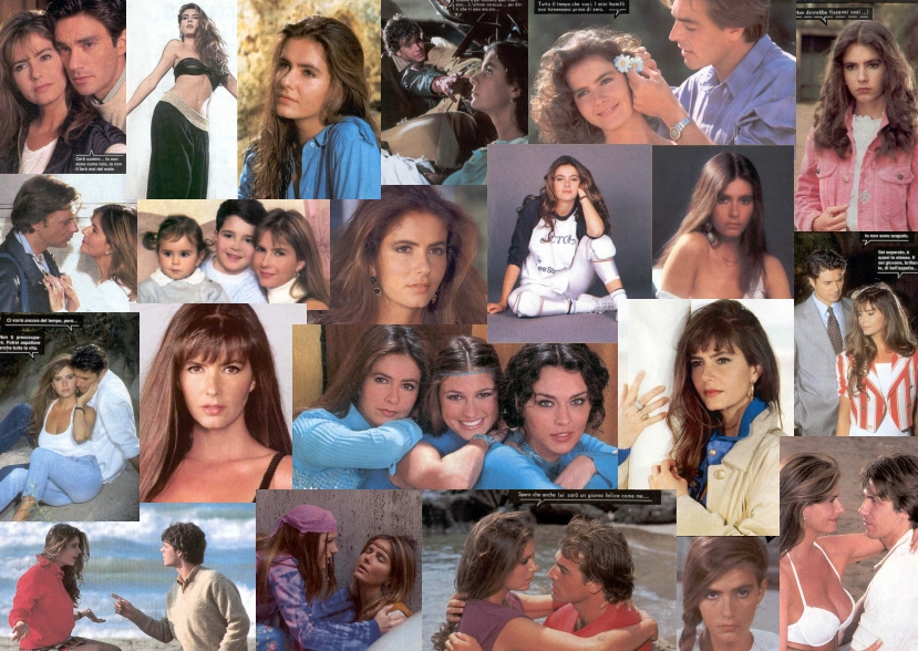 Ornella Pacelli collage