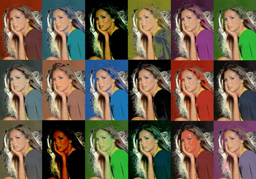 Paola Pitti pop art