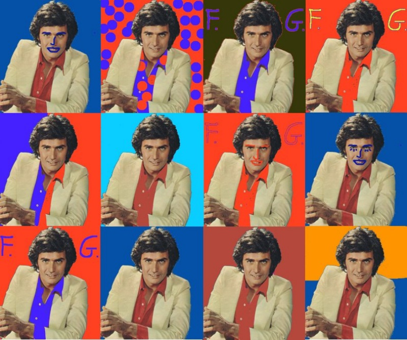 Franco Gasparri collage
