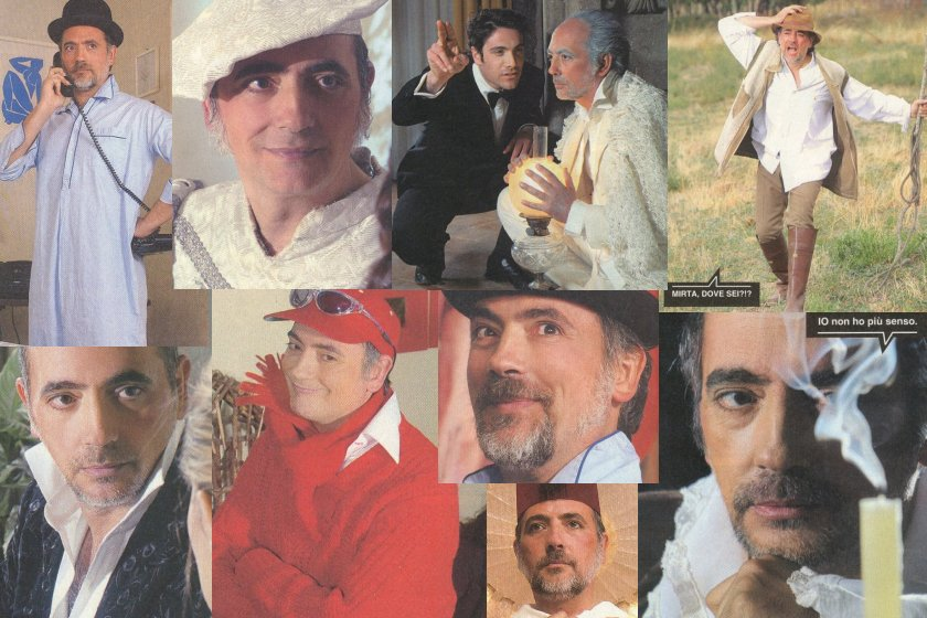 Luciano Calò collage