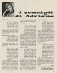 I consigli di Adriana