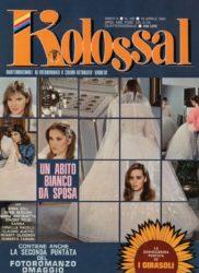 Un abito bianco da sposa